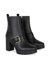 Giuseppe Zanotti chunky buckle boots