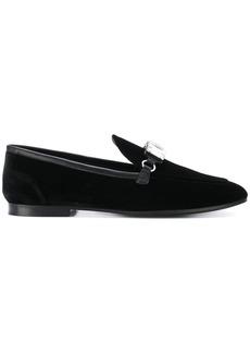 Giuseppe Zanotti Clover crystal loafers