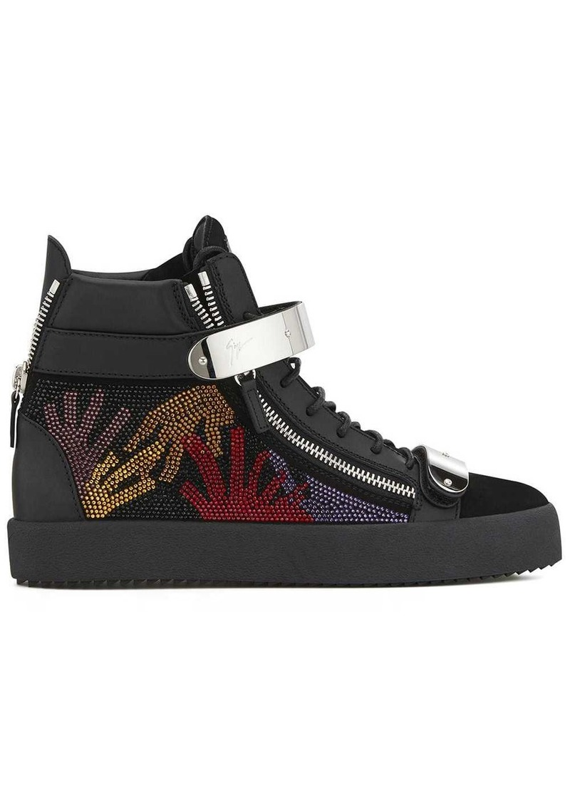 Giuseppe Zanotti Coby crystal-embellished sneakers