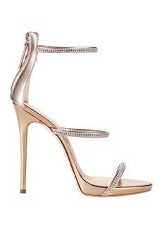 Giuseppe Zanotti Coline Strappy Crystal Sandals