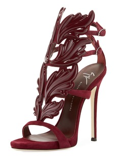 Coline Wings Suede Sandal