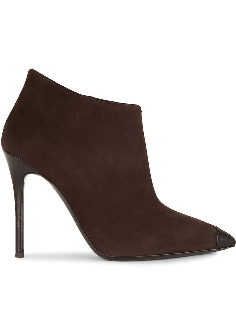 Giuseppe Zanotti contrast toe-cap boots