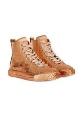 Giuseppe Zanotti croco-effect sneakers