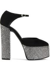 Giuseppe Zanotti crystal-embellished platform sandals