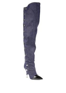 Giuseppe Zanotti Denim Over-The-Knee Boots
