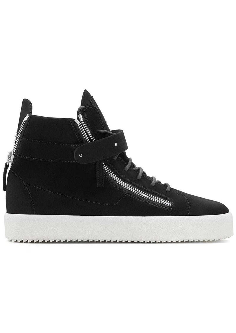 Giuseppe Zanotti Denny velvet sneakers