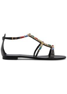 Giuseppe Zanotti Elba crystal-embellished sandals