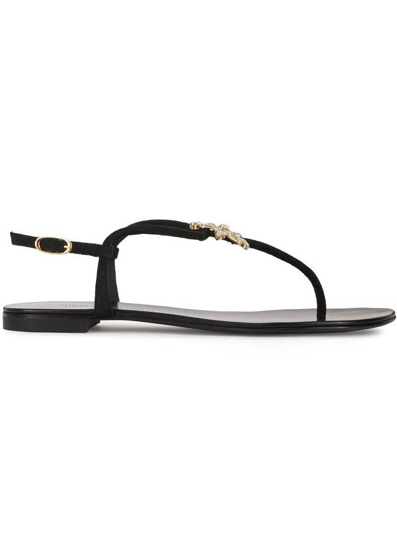 Giuseppe Zanotti embellished star sandals