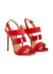 Giuseppe Zanotti Evelina patent leather sandals
