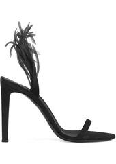 Giuseppe Zanotti Fenice Crazyhorse -embellished 105mm sandals