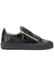 Giuseppe Zanotti Frankie croc sneakers