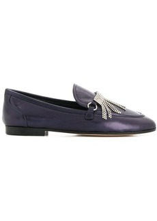 Giuseppe Zanotti fringed loafers