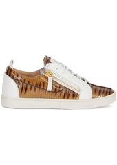 Giuseppe Zanotti Gail snakeskin-effect sneakers