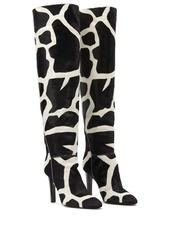 Giuseppe Zanotti giraffe print boots