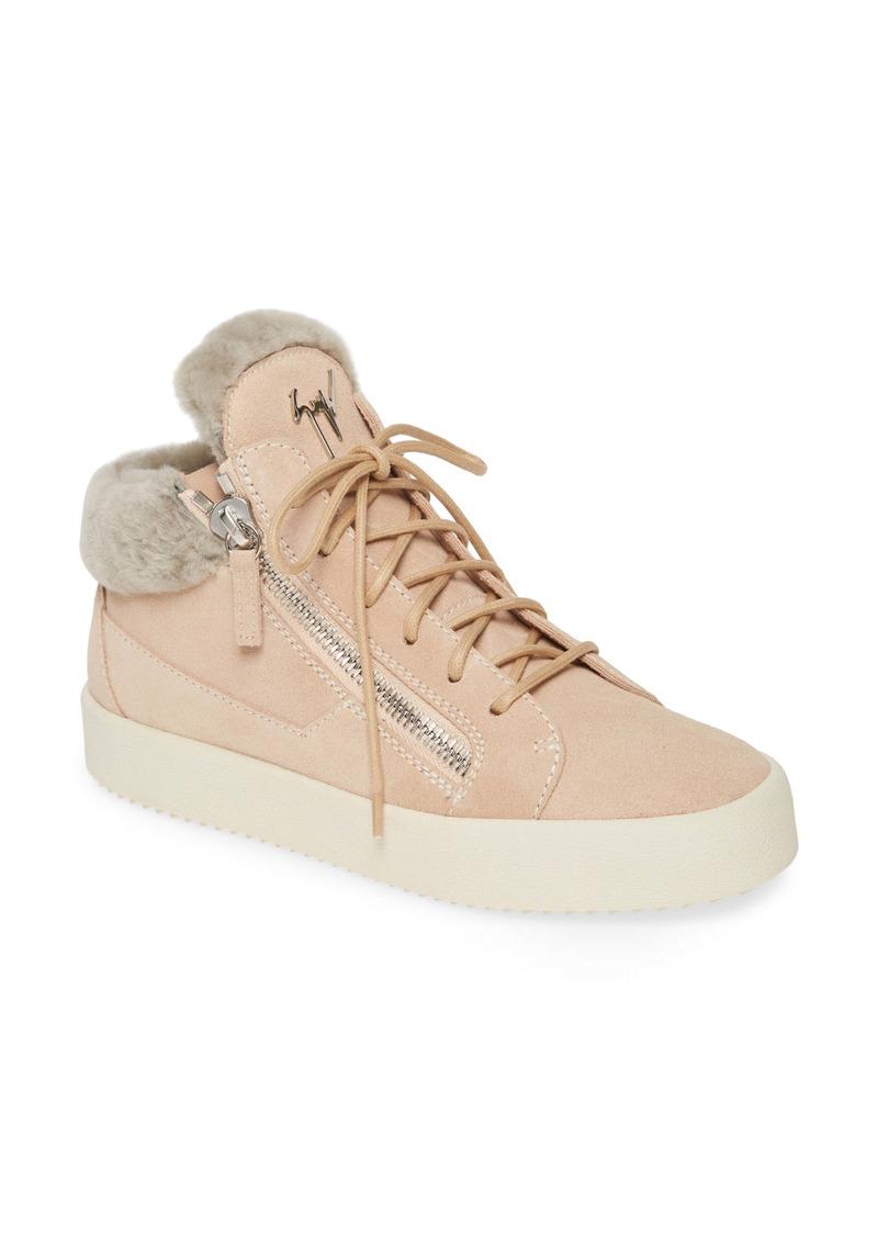 Genuine Shearling Sneaker (Women