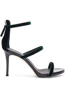 Giuseppe Zanotti Alie Heel in Dark Green. - size 39 (also in 38,40)