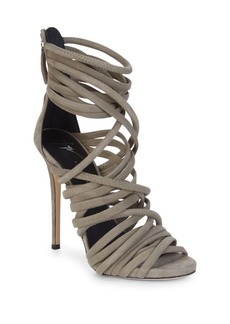 Giuseppe Zanotti Alien Leather Strappy Sandals