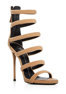 Giuseppe Zanotti Alien Multi Strap High Heel Sandals