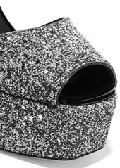 34b90d48a1da Giuseppe Zanotti Giuseppe Zanotti Betty glittered leather platform ...