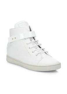 Giuseppe Zanotti Birel Leather High-Top Sneakers