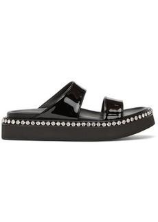 Giuseppe Zanotti Black Jolanda Crystal Sandals