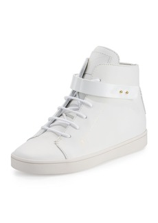 Giuseppe Zanotti Breck Leather High-Top Sneaker