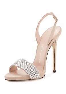 Giuseppe Zanotti Coline Crystal 110mm Sandal