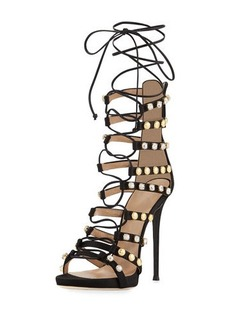 Giuseppe Zanotti Coline Strappy Lace-Up 110mm Sandal