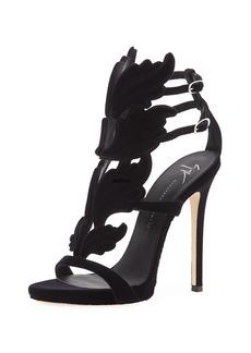 Giuseppe Zanotti Coline Winged Suede Sandals