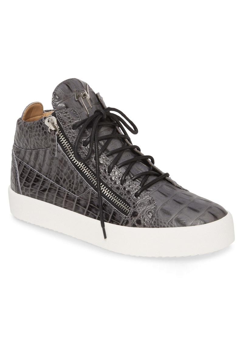 Giuseppe Zanotti Croco Sneaker (Men)