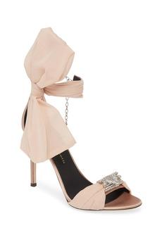 Giuseppe Zanotti Bow Ankle Strap Sandal (Women)