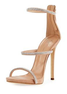 Giuseppe Zanotti Crystal-Embellished Strappy Sandal