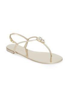 Giuseppe Zanotti Crystal Embellished Thong Sandal (Women) (Nordstrom Exclusive)