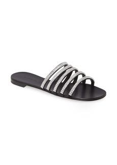 Giuseppe Zanotti Crystal Strap Slide Sandal (Women)