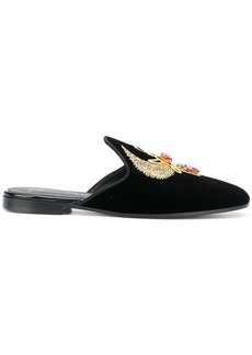 Giuseppe Zanotti Design Aisha crystal mules - Black