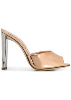 Giuseppe Zanotti Design Haileen mirrored mules - Metallic