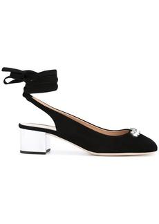 Giuseppe Zanotti Design jewelled lace-up sandals - Black