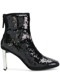 Giuseppe Zanotti Design Luce sequinned booties - Black