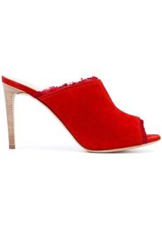 Giuseppe Zanotti Design open toe mules - Red