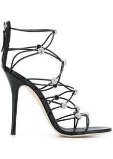 Giuseppe Zanotti strappy crystal sandals