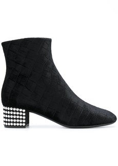 Giuseppe Zanotti Design studded heel boots - Black