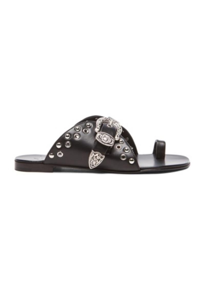Giuseppe Zanotti Buckled Leather Sandals