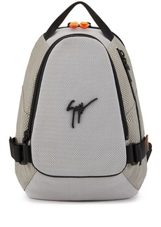 Giuseppe Zanotti tonal panel logo-appliqué backpack