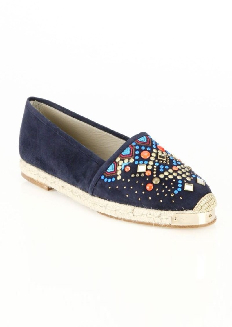 Giuseppe Zanotti Suede Espadrille Flats 2015 online new styles for sale clearance cheap online free shipping sast explore 1S8kn5SRiN