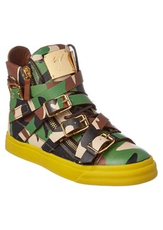 Giuseppe Zanotti Giuseppe Zanotti Camo Leather Hi...