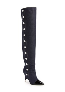 Giuseppe Zanotti Horror Button Over the Knee Boot (Women)