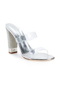 Giuseppe Zanotti Jelly Crystal Block Heel Sandal (Women)