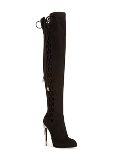 Giuseppe Zanotti Lace-Up Over the Knee Boot (Women)