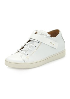 Giuseppe Zanotti Leather Stud-Strap Sneaker