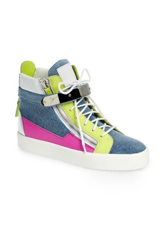 Giuseppe Zanotti May London High Top Sneaker (Women)